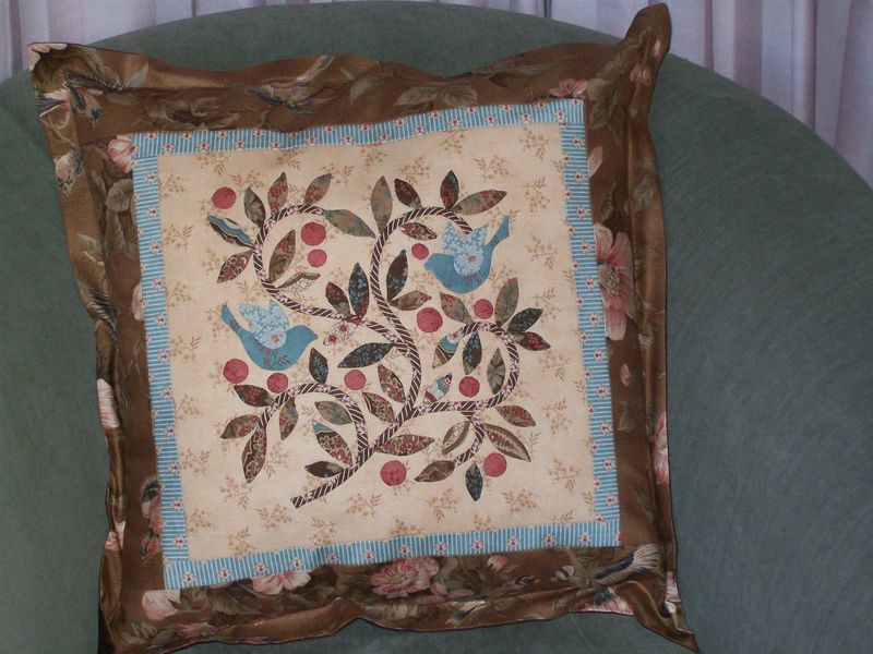 Barb's cushion